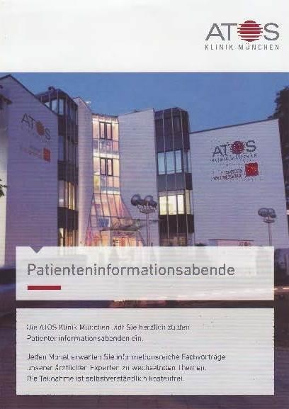 Dr. Kinast Patienten-Informationsabend ATOS Klinik München