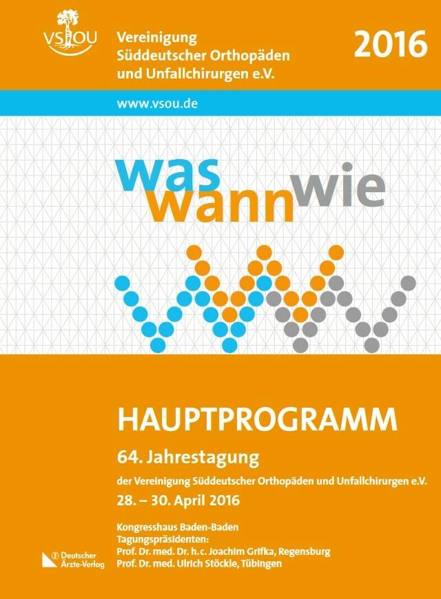 Süddeutscher Orthopäden- und Unfallchirurgenkongress 2016
