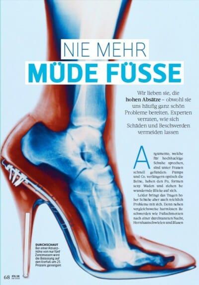 FÜR SIE 06-2018 - Nie mehr müde Füße