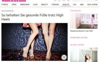 womenshealth 2018 High-Heels Dr. Fröhlich
