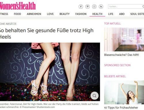 Dr. med. Imke Fröhlich in womenshealth – gesunde Füße trotz High Heels