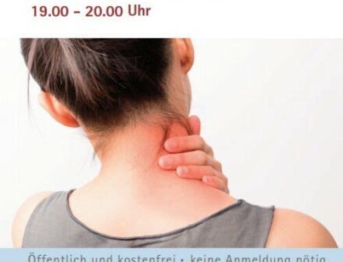 Prof. Linhardt-Vortrag: Was tun bei chronischen Nackenschmerzen?