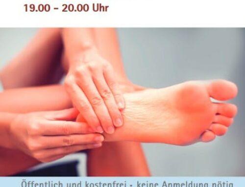 Dr. Fröhlich Vortrag: Was tun bei Hallux valgus bis Hammerzeh?