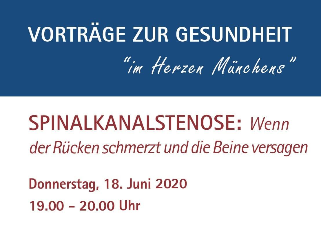 Prof. Linhardt OZA Vortrag Josephinum Spinalkanalstenose 06-2020