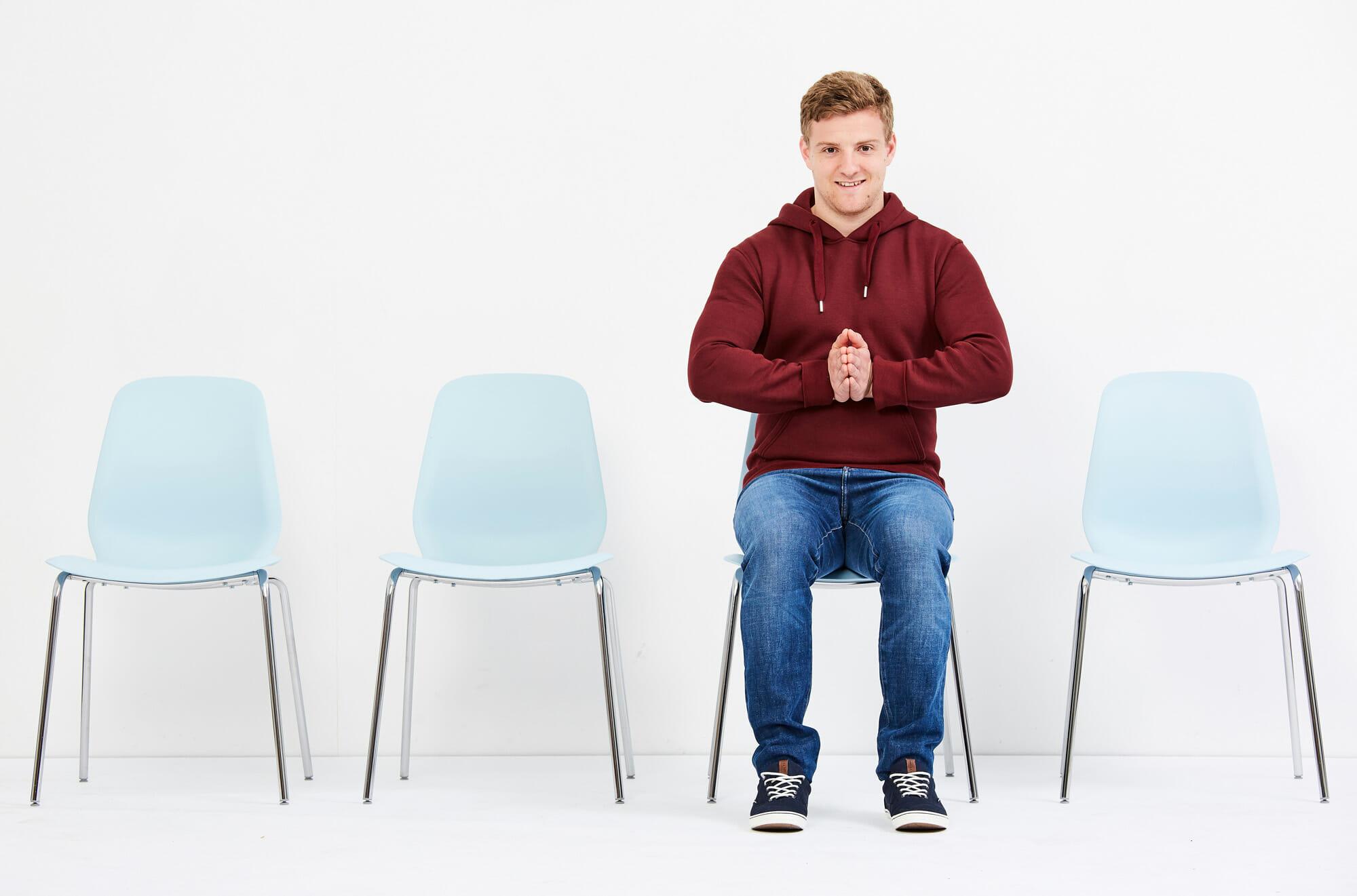 Zeit im Wartezimmer für Training nutzen