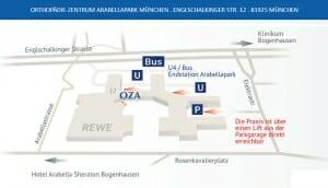 OZA Anfahrtsplan