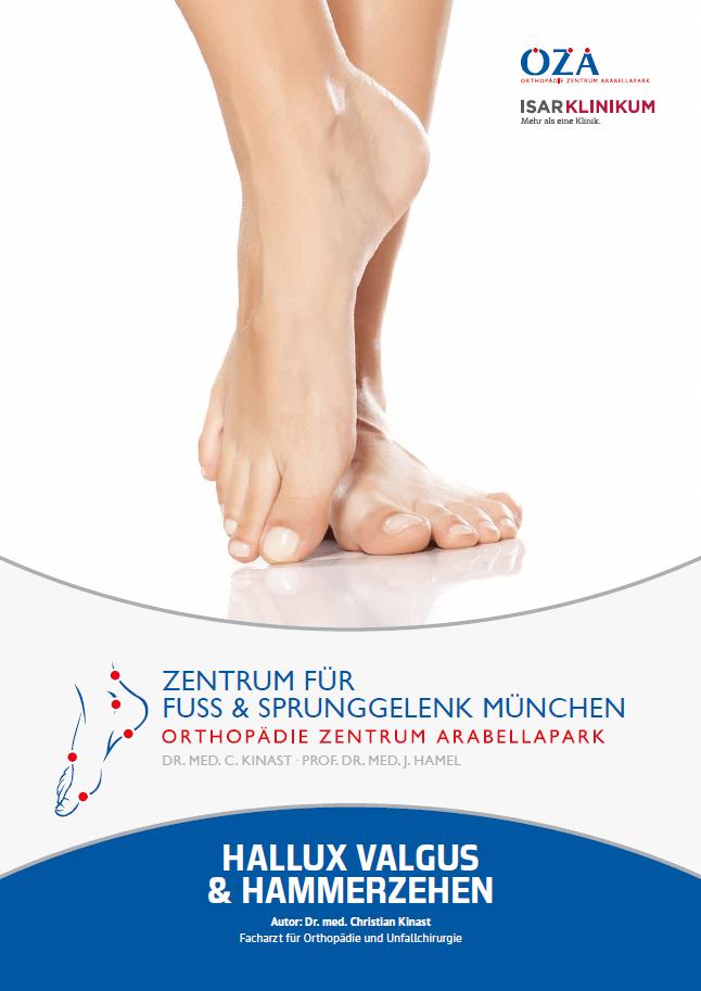 """Patienten-Broschüre """"HALLUX VALGUS & HAMMERZEHEN"""""""