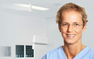 Dr. med. Imke Fröhlich - Die Lockerungen halten auch im OZA München Einzug
