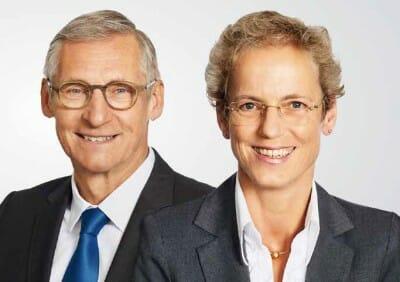 Dr. Fröhlich und Dr. Kinast