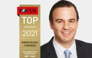 Focus - Prof. Dr. Linhardt zählt zu den Top-Medizinern Deutschlands