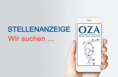 OZA Stellenanzeige - Wir suchen