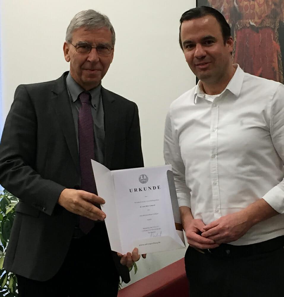 Prof. Linhardt Prof.-Ernennung